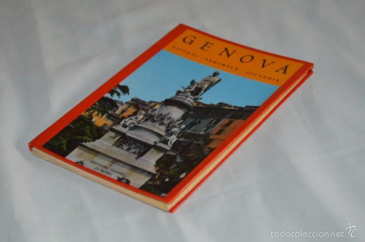 Fotografía antigua: Libro con 17 fotografías de GENOVA a todo color - Años 50 - GENOVA - RICORDO - REMEMBER - SOUVENIR - Foto 3 - 58114064