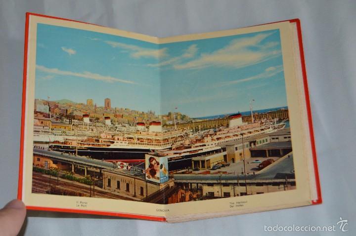 Fotografía antigua: Libro con 17 fotografías de GENOVA a todo color - Años 50 - GENOVA - RICORDO - REMEMBER - SOUVENIR - Foto 4 - 58114064