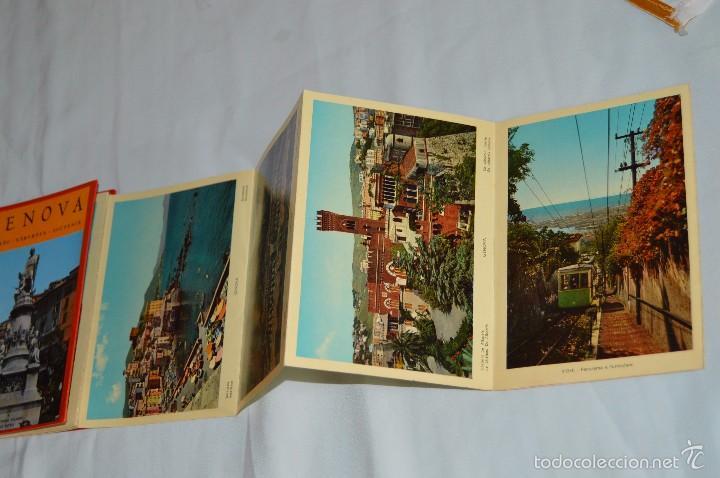 Fotografía antigua: Libro con 17 fotografías de GENOVA a todo color - Años 50 - GENOVA - RICORDO - REMEMBER - SOUVENIR - Foto 5 - 58114064