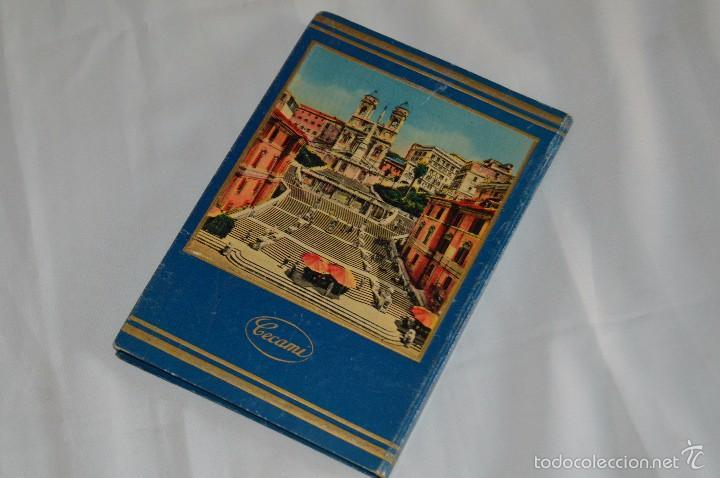 Fotografía antigua: Libro con 32 fotografías de Roma a todo color - Años 50 - ROMA 32 VERDUTE A COLORI, PARTE I - Foto 2 - 58114127