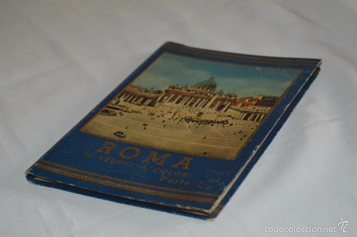 Fotografía antigua: Libro con 32 fotografías de Roma a todo color - Años 50 - ROMA 32 VERDUTE A COLORI, PARTE I - Foto 3 - 58114127