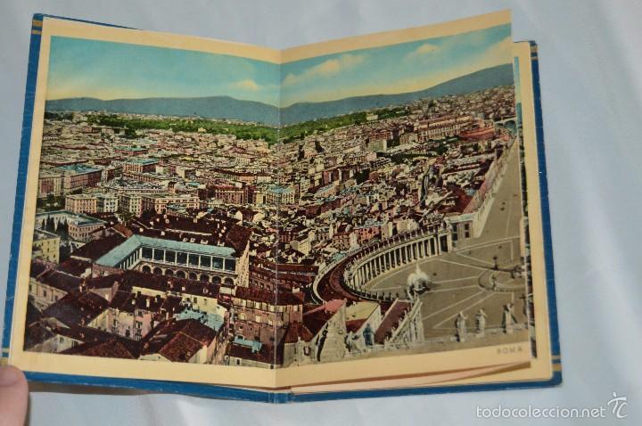 Fotografía antigua: Libro con 32 fotografías de Roma a todo color - Años 50 - ROMA 32 VERDUTE A COLORI, PARTE I - Foto 4 - 58114127