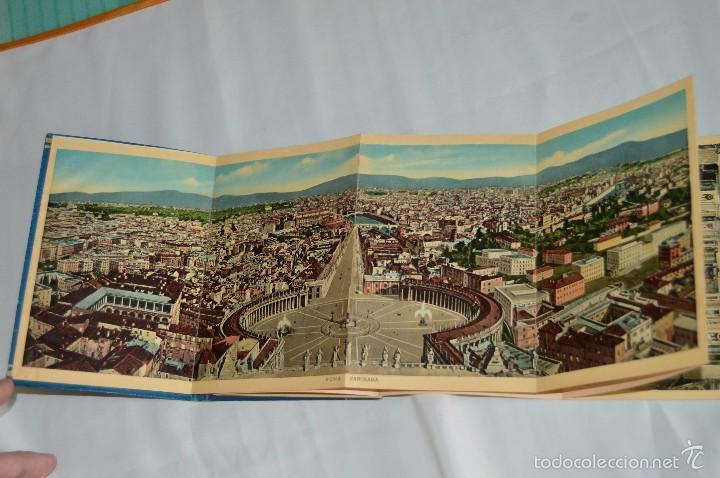 Fotografía antigua: Libro con 32 fotografías de Roma a todo color - Años 50 - ROMA 32 VERDUTE A COLORI, PARTE I - Foto 5 - 58114127