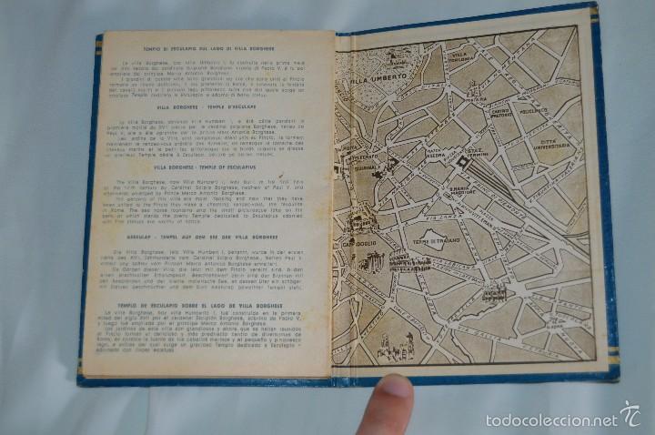 Fotografía antigua: Libro con 32 fotografías de Roma a todo color - Años 50 - ROMA 32 VERDUTE A COLORI, PARTE I - Foto 7 - 58114127