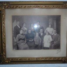Fotografía antigua: FOTOGRAFIA ANTIGUA FAMILIAR PRINCIPIOS SIGLO XX FOTO ORRITZ MANRESA . Lote 58240393