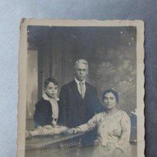 Fotografía antigua: FOTOGRAFIA FAMILIA, FOTOGRAFIA DESPRAT. ALES. Lote 58604273