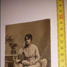 Fotografía antigua: RETRATO MUJER - 1921. Lote 54840802