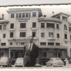 Fotografía antigua: ANTIGUA FOTOGRAFIA FOTO TERRAMAR PALACE AÑOS 60 SITGES. Lote 60081971