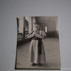 Fotografía antigua: FOTO TARJETA POSTAL NIÑO EN SEMINARIO. MEDIDAS 14X9. Lote 60377127