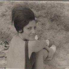 Fotografía antigua: FOTOGRAFIA ANTIGUA FOTO EROTICA SEÑORA EN BAÑADOR AÑOS 60 PEINADO ARRIVA ESPAÑA. Lote 60446923