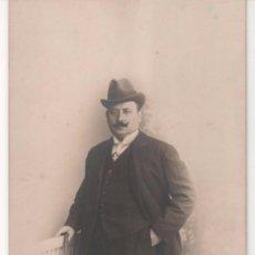 Fotografía antigua: ANTIGUA FOTOGRAFÍA POSTAL DEL AÑO 1913 EN BARCELONA . J. FABREGAT FOTÓGRAFO. Lote 60487195
