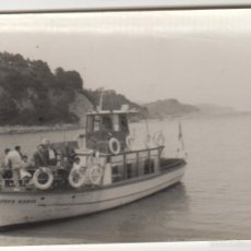 Fotografía antigua: FOTOGRAFIA ANTIGUA FOTO AÑOS 60 BARCO JOVEN MARIA MALAGA. Lote 60602127