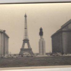 Fotografía antigua: FOTOGRAFIA ANTIGUA FOTO AÑOS 60 TORRE EIFFEL - PARIS. Lote 60605175