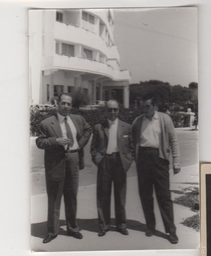 FOTOGRAFIA ANTIGUA FOTO AÑOS 60 SITGES HOTEL TORREMAR (Fotografía Antigua - Tarjeta Postal)