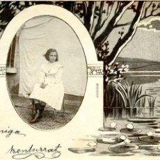 Fotografía antigua: 7 TARJETAS POSTALES FOTOGRÁFICAS DE NIÑOS. 1902. Lote 60678003