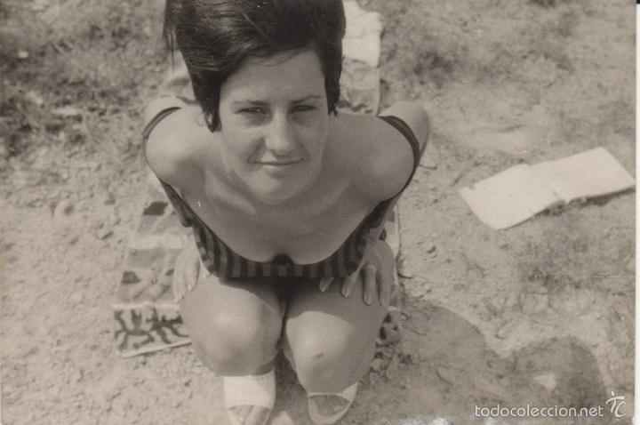 FOTOGRAFIA ANTIGUA EROTICA AÑOS 60 (Fotografía Antigua - Tarjeta Postal)