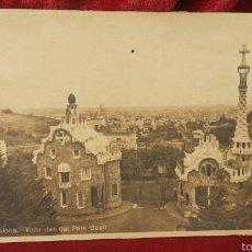 Fotografía antigua: POSTAL ANTIGUA - VISTA DE. DEL PARK GUELL- BARCELONA . Lote 61391343