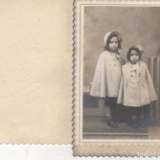 Fotografia antiga: BUENA FOTOGRAFIA NIÑA NIÑAS FOTOGRAFIA COMELLAS MANRESA. Lote 179141572