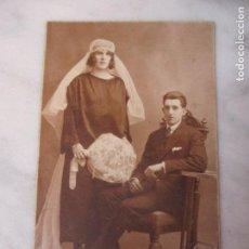 Fotografía antigua: BONITA TARJETA POSTAL ANTIGUA - FOTO DE ESTUDIO - FOTÓGRAFO SANTOJA, BARCELONA - PRINCIPIOS S.XX. Lote 61895708