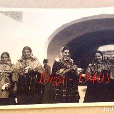 Fotografía antigua: IBIZA - EIVISSA - 1940'S - POSTAL FOTOGRÁFICA . Lote 82065711