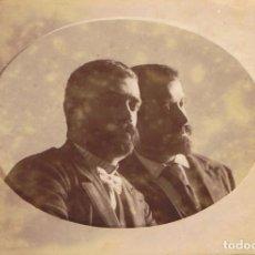 Fotografía antigua: FOTOGRAFIA DE TESTAS RECLINADAS. MONTAJE FOTOGRÁFICO. CA.1900-1910. SIN AUTORIA. PROCED:BARCELONA.. Lote 62753808