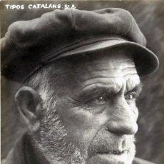 Fotografía antigua: TIPOS CATALANES, TIPOS CATALANS. PESCADOR. J. PONS FOTÓGRAFO. . Lote 63693603