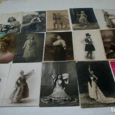 Fotografía antigua: TARJETAS POSTALES AÑOS 20. Lote 65242847
