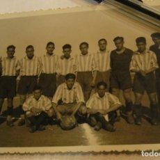 Fotografía antigua: ANTIGUA TARJETA POSTAL EQUIPO DE FUTBOL AÑOS 30 APORTO MUCHAS FOTOS. Lote 66015374