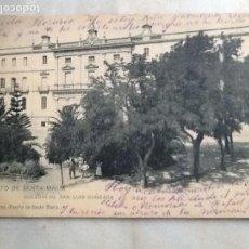 Fotografía antigua: COLEGIO SAN LUIS GONZAGA. PUERTO DE SANTA MARÍA.. Lote 66979810