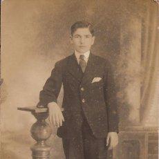 Fotografía antigua: ANTIGUA FOTOGRAFÍA - POST CARD - D. A. MEDINA - HABANA - JOVEN. Lote 67006718