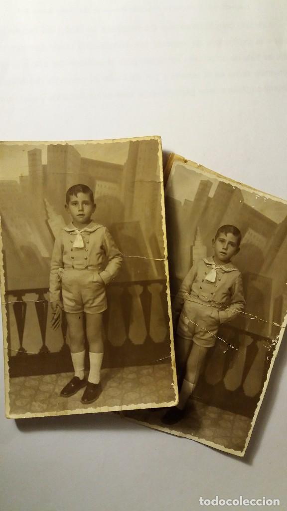 2 ANTIGUAS TARJETAS POSTAL FOTOGRAFICA ORIGINAL, AÑOS 30/40 COMUNION (Fotografía Antigua - Tarjeta Postal)