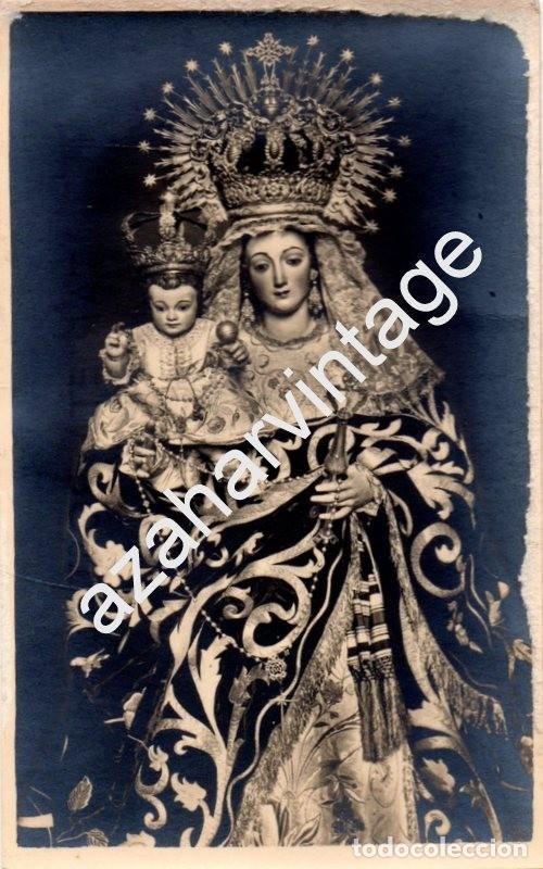 Semana santa sevilla rarisima postal fotograf comprar fotografas semana santa sevilla rarisima postal fotografica de la virgen del rosario de santa catalina altavistaventures Choice Image