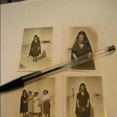 Fotografía antigua: ANTIGUA FOTO FOTOGRAFIA MUJER CON MANTILLA AÑOS 40- 50 (17). Lote 72410943