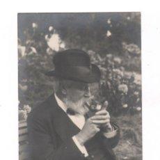 Fotografía antigua: SANTIAGO RUSIÑOL (1861-1931) RETRATO DEL PINTOR Y ESCRITOR, FOTO: CARRERAS.. Lote 72727319