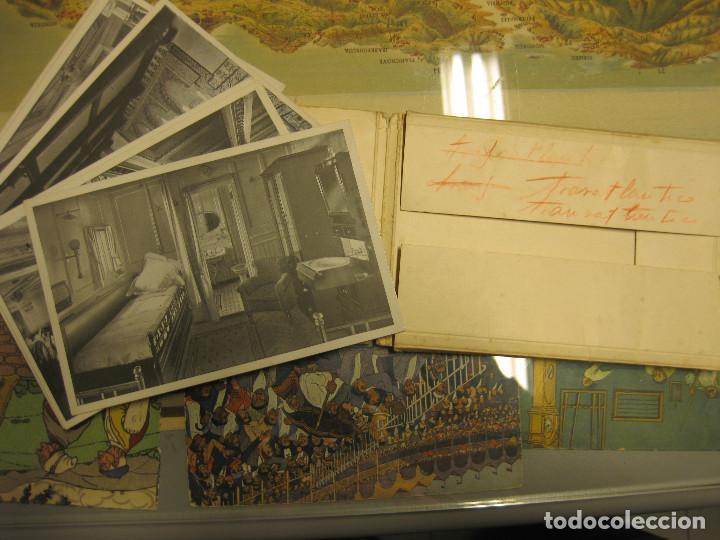 JUEGO COMPLETO DE 10 POSTALES CON VISTAS DEL TRASATLÁNTICO ALFONSO XIII. TAMBIÉN CONOCIDO POR HABANA (Fotografía Antigua - Tarjeta Postal)