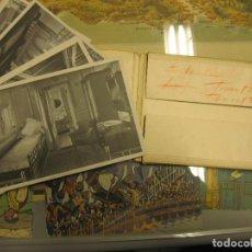 Fotografía antigua: JUEGO COMPLETO DE 10 POSTALES CON VISTAS DEL TRASATLÁNTICO ALFONSO XIII. TAMBIÉN CONOCIDO POR HABANA. Lote 72760799