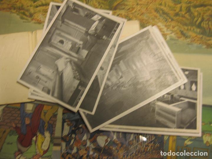 Fotografía antigua: juego completo de 10 postales con vistas del trasatlántico alfonso xiii. también conocido por habana - Foto 2 - 72760799