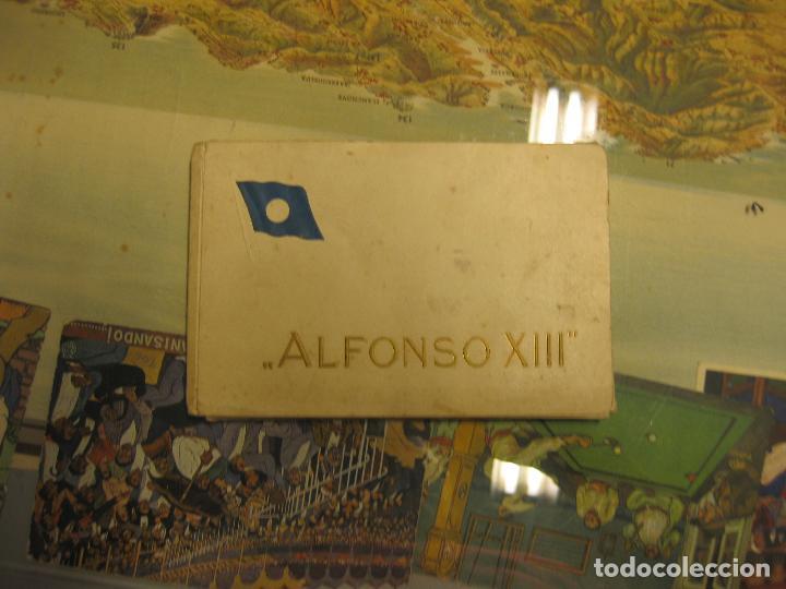 Fotografía antigua: juego completo de 10 postales con vistas del trasatlántico alfonso xiii. también conocido por habana - Foto 3 - 72760799