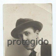 Fotografía antigua: RETRATO MASCULINO. CARTAGENA, MURCIA. FOTÓGRAFO SANCHIS. ALCOY, ALICANTE.. Lote 73526523
