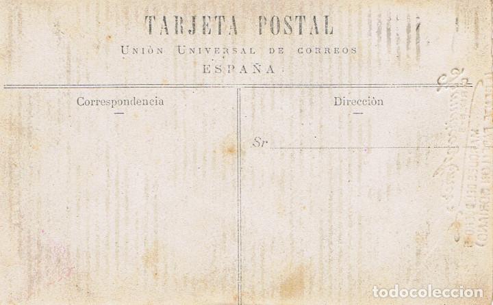 Fotografía antigua: FOTO RETRATO DE CICLISTA SENTADO EN SU BICICLETA. CA.1910-1915. FOT.: FRANCISCO AMER.BARCELONA. - Foto 2 - 73696959
