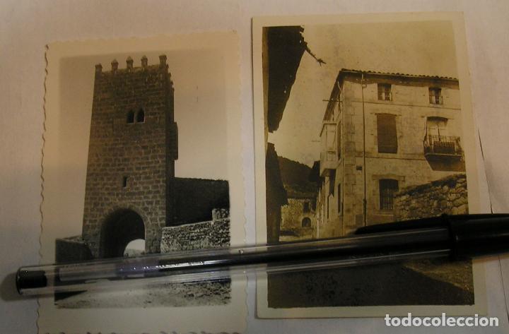 ANTIGUA FOTO FOTOGRAFIA LOTE DE 2 FOTOS (17) (Fotografía Antigua - Tarjeta Postal)