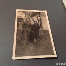 Fotografía antigua: ANTIGUA FOTO - TARJETA POSTAL DE PAREJA . Lote 75851663