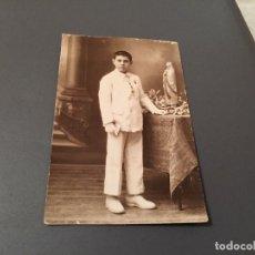 Fotografía antigua: ANTIGUA FOTO - TARJETA POSTAL DE NIÑO DE COMUNIÓN. Lote 75852007