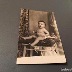 Fotografía antigua: ANTIGUA FOTO - TARJETA POSTAL DE BEBÉ . Lote 75852131