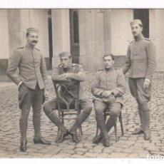 Fotografía antigua: RETRATO DE MILITARES, MELILLA PROBABLEMENTE, 1910'S. . Lote 76177411
