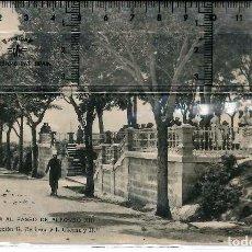 Fotografía antigua: JACA PASEO ALFONSO XIII 1912. Lote 78403165