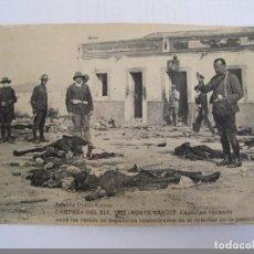 Fotografía antigua: POSTAL - CAMPAÑA DEL RIF, 1921.MONTE ARRUIT. CAPELLAN REZANDO. Lote 78403209