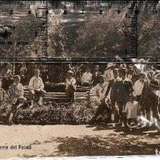 Fotografía antigua: JACA NIÑOS EN EL PASEO ALFONSO XIII. Lote 78403489