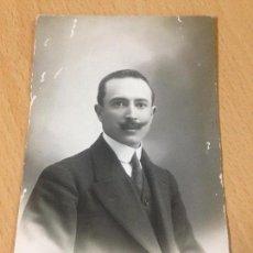 Fotografía antigua: ANTIGUA FOTOGRAFIA TARJETA POSTAL PERSONAJE DE TOTANA MURCIA A. TARRAGA. Lote 80270253