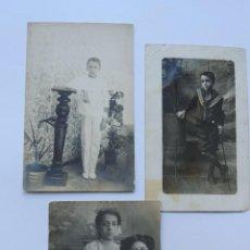 Fotografía antigua: 3 FOTOGRAFIAS / LA HABANA / CUBA. Lote 80596106